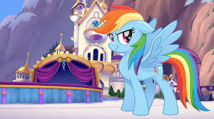 my little pony the wallpaper rainbow dash
