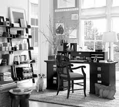 Awesome home office setup ideas rooms Gaming Amusing Black And White Decor For Small Home Office Setup Ideas With Custom Stairs Rack Added Modern Dark Polished Office Table In White Rooms Painted Ideas Hashook Amusing Black And White Decor For Small Home Office Setup Ideas With