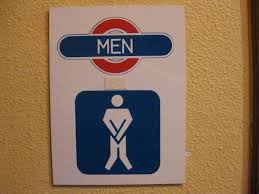 blue mens bathroom sign. Wayfinding And Typographic Signs - Mens-restroom-figure Blue Mens Bathroom Sign O
