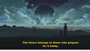 amazing future quote with image background