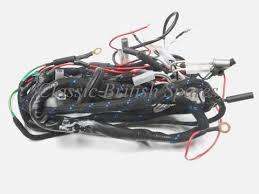 triumph t100 t120 genuine lucas wiring harness 54957095 1969 70
