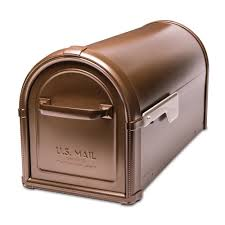 residential mailboxes and posts. Hillsborough Post Mount Mailbox Copper Residential Mailboxes And Posts