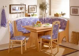 impressive-blue-cushion-seat-corner-breakfast-nook-set-