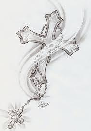 Girly Cross Designs Cute Cross Tattoo Designs Tattoo Collection