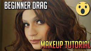 how to do drag makeup for beginners