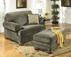chair and half with ottoman living room set modern house reclining leather wing velvet swivel chairs upholstered grey overstuffed twin sleeper plaid