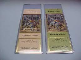 Horse Racing Fan Apparel Souvenirs Sports Mem Cards