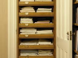 diy linen closet home