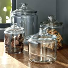 bathroom glass jars decorative glass jars canisters with lids fancy heritage hill for bathroom bathroom glass