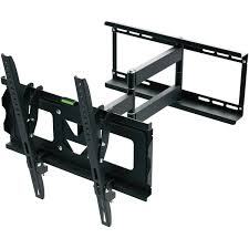 ematic full motion tv wall mount kit with hdmi cable for 19 70 displays com