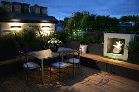 Astonishing Fresh Landscape Rooftop Design From Top House : Gorgeous  Japanese Interior Rooftop Landscaping Design With ...
