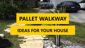 50 best pallet walkway diy ideas for your house 2017
