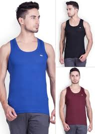 Lux Cozi Mens Cotton Vest Set Of 3