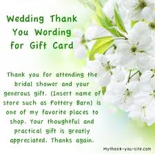 wedding thank you card wording for gift card thank you bridal Wedding Shower Gift Cards wedding thank you card wording for gift card thank you bridal shower wording for gift certificate pinterest gift certificates, bridal showers and wedding shower gift cards to print