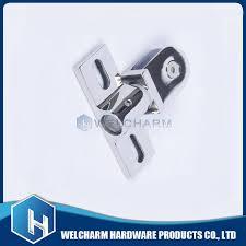 stainless steel flat rotating shaft shower door hinge bathroom glass door hardware fittings hcb