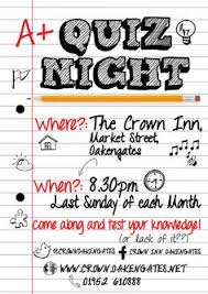 Quiz Night Poster Template Free Google Search Cenny Pinterest