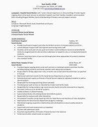 Social Work Resume Sample Lovely Cover Letter Social Work Social