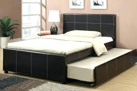 queen platform bed with trundle. Delighful With Queen Bed With Twin Trundle Platform Large Of  Wonderful Espresso Faux Full   In Queen Platform Bed With Trundle