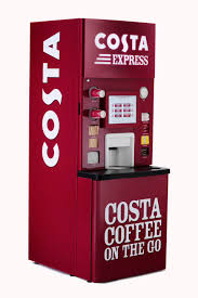 Costa Vending Machines Mesmerizing Costa Express COSTA COFFEE