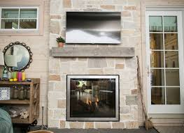 indoor outdoor see thru fireplace fireplaces
