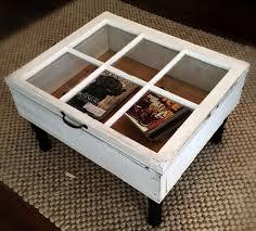 20 diy shadow box coffee table plans