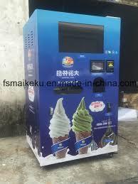 Frozen Yogurt Vending Machine Best China Frozen Yogurt Machine Soft Ice Cream Machine Ice Cream