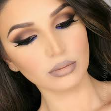 light and dark brown makeup for eyes