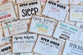 Maybe you would like to learn more about one of these? Open When Letters Valentine S Custom Card Going Away Etsy