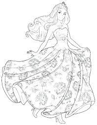 Barbie Princess Coloring Page Kids Free Printable Coloring Pages