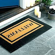 monogram rugs outdoor rug personalized double border doormat as art baby nursery for outside