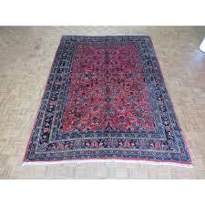 8 6 x 12 hand knotted antique persian sarouk oriental rug g1802 oriental rug galaxy