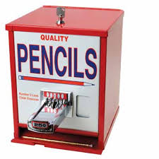 Pencil Vending Machine
