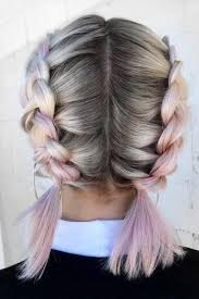 Jednoduché Letní účesy Pro Dlouhé Vlasy Pletené Copy šátky Ve