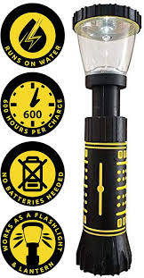 Hydro Light Flashlight Review Hydralight Flashlight Comes With 2 Fuel Cells As Seen On Tv Flashlight Water Powered Flashlight No Battery Flashlight Water Flashlight As