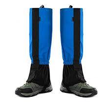 echeer hiking snake gaiters uni outdoor mountain snow legging gaiters hiking gaiters for