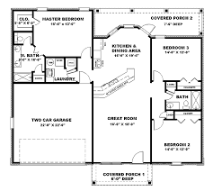image of 1500 sq ft house plans with walkout basement photo