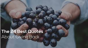 Giving Back Quotes Unique The 48 Best Quotes About Giving Back