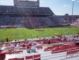 Gaylord Family Oklahoma Memorial Stadium Section 32 Seat