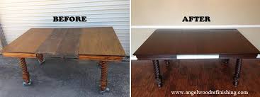 Refinishing Wood Tables How To Refinish A Dining Room Table Hgtv