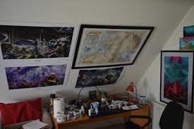 hobbyframed this awesome map of the warhammer world and added it to my paint station  on map wall art reddit with framed this awesome map of the warhammer world and added it to my