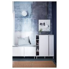 IKEA MACKAPR bench with storage compartments