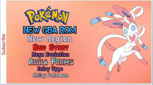 Pokemon Aquamarine GBA ROM 2019 [Completed-English] Incl All Eeveelutions  Sylveon New Region, Story! - YouTube