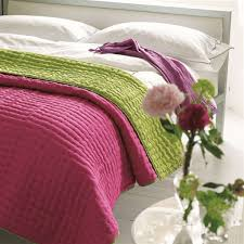 Designers Guild Chenevard Fuchsia & Lime Quilts & Shams &  Adamdwight.com