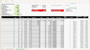 Bill Tracker Template Excel Monthly Invoice Tracker Template Excel Someka Ss6 Templates
