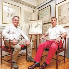 Historical Nautical Charts For Sale Collectors 400 Years Of China Maps And Nautical Charts Up