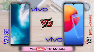 vivo Y51 2020, December Edition vs vivo ...