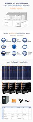 Wholesale W Portable Solar Power System China Planning A Home - Home solar power system design