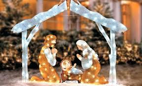 outdoor nativity set image of outdoor nativity sets outdoor nativity sets lighted