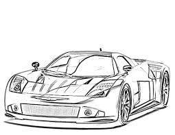 27 Sports Car Coloring Pages Download Coloring Sheets