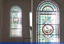 ap stained glass andrew patch design and restoration front doors 2